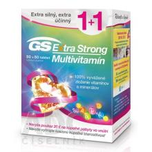 GS Extra Strong multivitamín tbl. 50 + 50