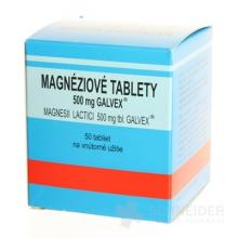 MAGNÉZIOVÉ TABLETY 500 MG-GALVEX
