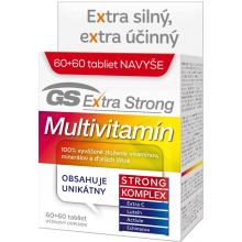 GS Extra Strong Multivitamín, tbl. 60 + 60