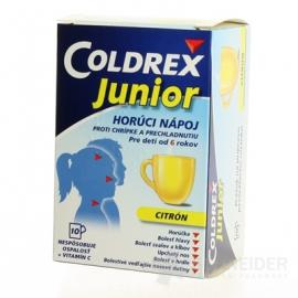 Coldrex Junior Citrón 10 vreciek