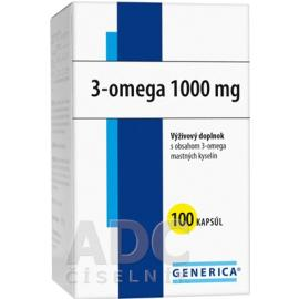 GENERICA 3-OMEGA 100CPS 1000MG