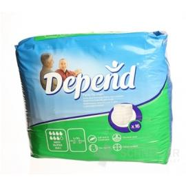 DEPEND PANTS SUPER L/XL