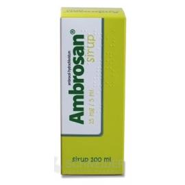 AMBROSAN 15 mg/5 ml sirup