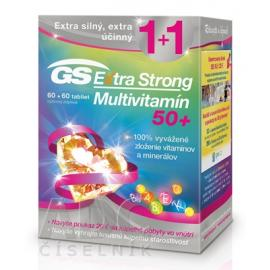 GS Extra Strong multivitamín tbl. 50+ tbl. 60 + 60