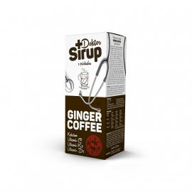 Doktor sirup Ginger Coffee kalciový sirup 200 ml