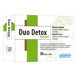 Duo Detox herbal, tbl. 30