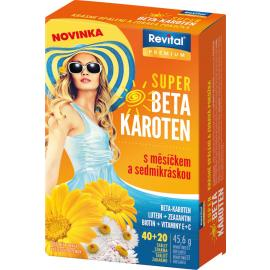 Revital Super Beta karotén 40 + 20 tbl.