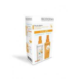 Bioderma Photoderm Sprej SPF 30 200ml + KID Sprej SPF 50+ 200ml