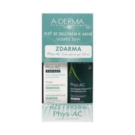 A-Derma Phys-AC Perfect fluid 40ml + čistiaci gél 100ml