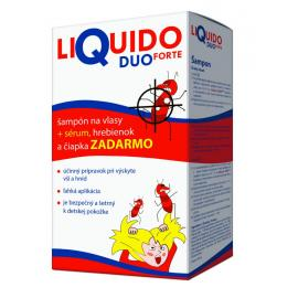 LiQuido DUO FORTE proti všiam (šampón + sérum) 200 + 125 ml