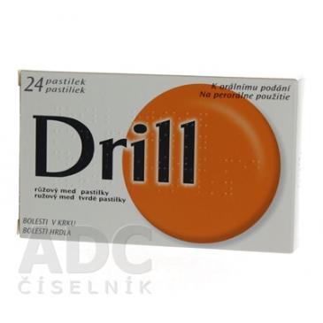 Drill ružový med 24 ks 4efaa59e38
