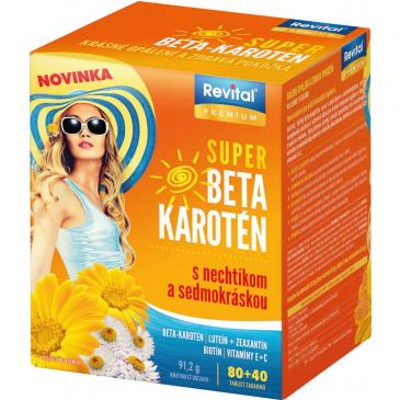 Revital Super beta karotén 80 + 40 tbl.