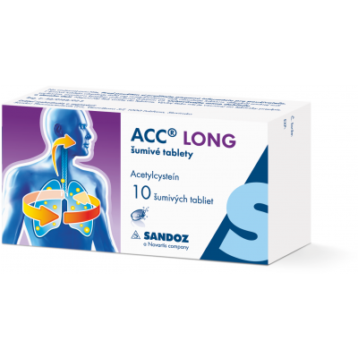 ACC® Long šumivé tablety, 10ks