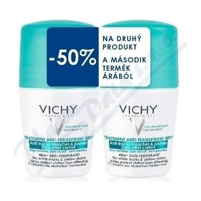 Vichy Deo roll-on anti-traces 48h DUO 2x50ml